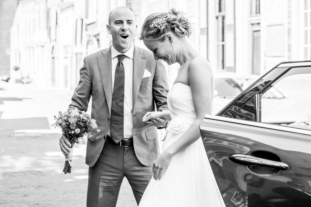 Bruidspaar Zierikzee Zeeland